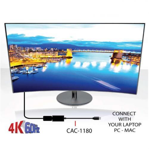 Club 3D Mini DisplayPort 1.4 To HDMI 2.0a HDR Alternate-Image4/500