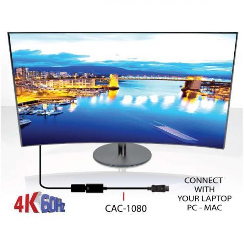 Club 3D DisplayPort 1.4 To HDMI 2.0a HDR Alternate-Image4/500