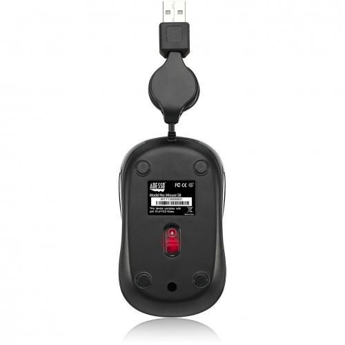 Adesso IMouse S8L   USB Illuminated Retractable Mini Mouse Alternate-Image4/500