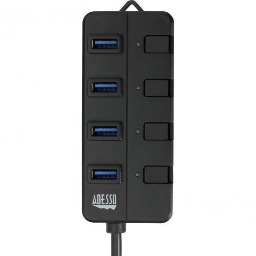 Adesso 4 Ports USB 3.0 Hub Alternate-Image4/500