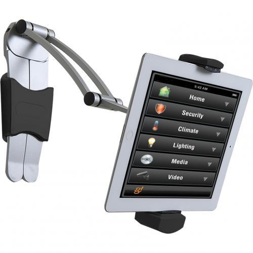 CTA Digital Multi Flex Tablet Stand + Mount???Black 360Deg Rotating Holder Alternate-Image4/500