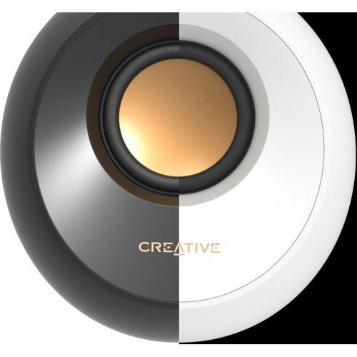 Creative Pebble 2.0 Speaker System   4.40 W RMS   White Alternate-Image4/500
