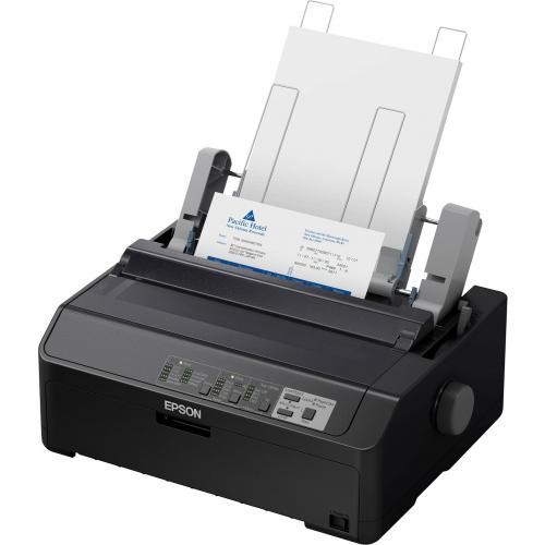 Epson LQ 590II 24 Pin Dot Matrix Printer   Monochrome   Energy Star Alternate-Image4/500