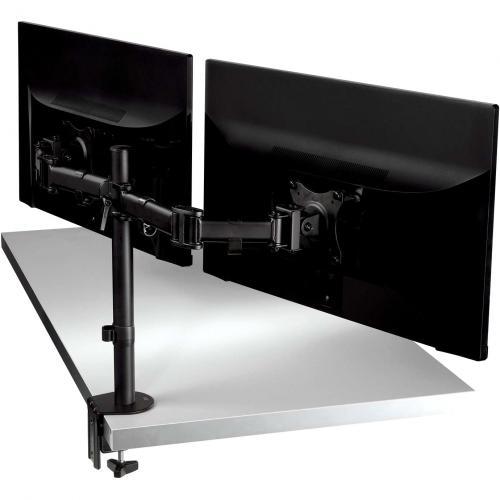 3M Clamp Mount For Monitor   Black Alternate-Image4/500