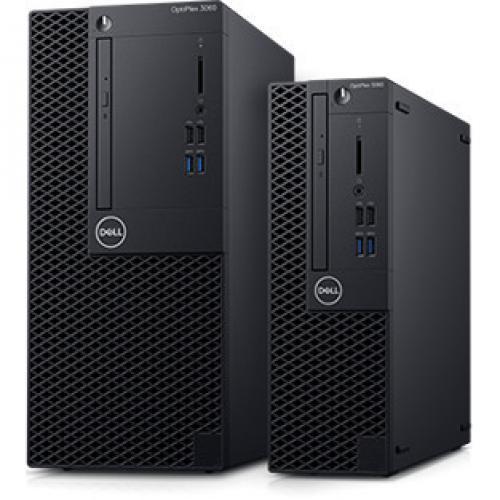 OPTIPLEX 3060 CORE I5 8 8500 8GB 1DIMMS 1TB 7.2K NO W10 Alternate-Image4/500