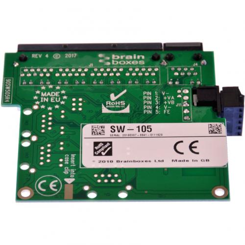 Brainboxes Industrial Embeddable 5 Port Ethernet Switch Alternate-Image4/500