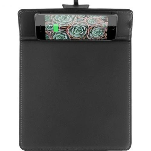 Aluratek Qi Wireless 10W Charging Mouse Pad Alternate-Image4/500