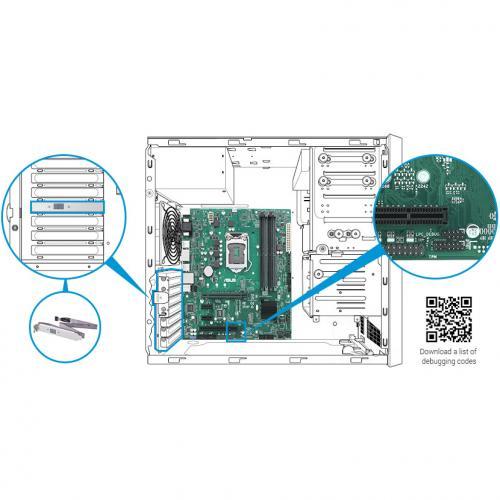 Asus Prime Q370M C/CSM Desktop Motherboard   Intel Chipset   Socket H4 LGA 1151   Intel Optane Memory Ready   Micro ATX Alternate-Image4/500