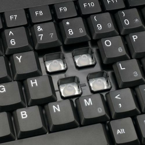 Adesso Wireless Mini Touchpad Keyboard Alternate-Image4/500