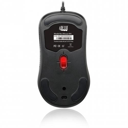 Adesso IMouse W4   Waterproof Antimicrobial Optical Mouse Alternate-Image4/500