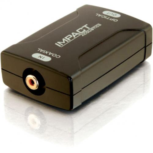 C2G Coaxial To TOSLINK Optical Digital Audio Converter Alternate-Image4/500