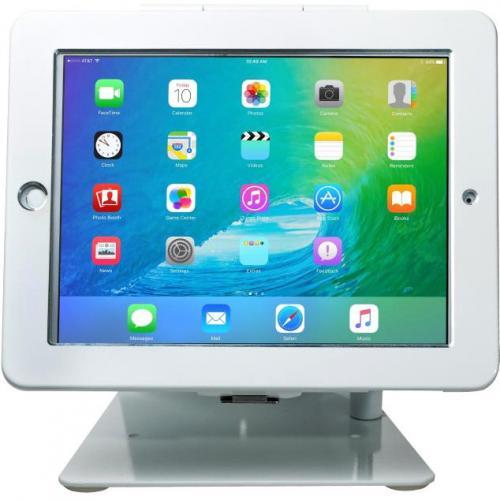 CTA Digital Desk Mount For IPad, IPad Air, IPad Pro   White Alternate-Image4/500