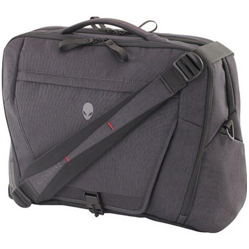 "Mobile Edge Elite Carrying Case (Backpack) For 17.3"" Dell Notebook   Black, Gray Alternate-Image4/500"