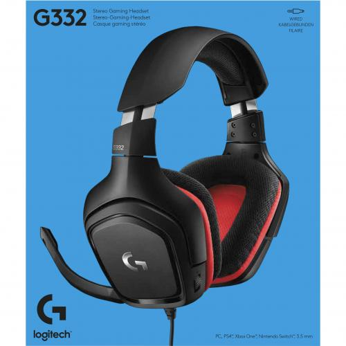 Logitech G332 Gaming Headset Alternate-Image4/500