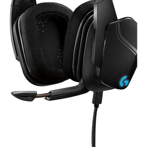 Logitech G635 7.1 Lightsync Gaming Headset Alternate-Image4/500