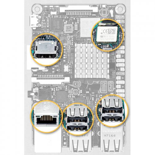 Asus Tinker Board S Single Board Computer Alternate-Image4/500