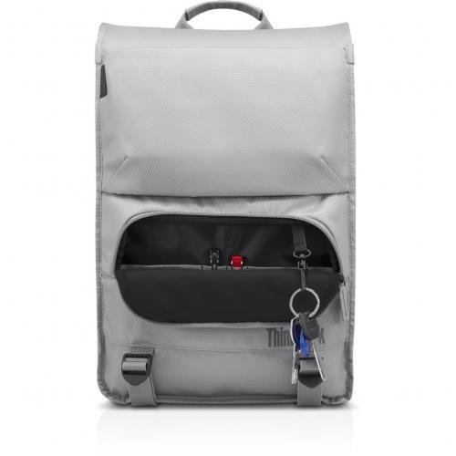 """Lenovo Carrying Case (Backpack) For 15.6"""" Lenovo Notebook   Gray Alternate-Image4/500"""