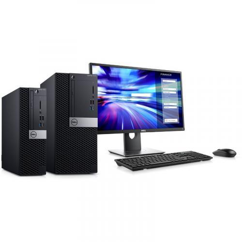 Dell OptiPlex 7000 7070 Desktop Computer   Intel Core I5 9th Gen I5 9500 3 GHz   8 GB RAM DDR4 SDRAM   256 GB SSD   Small Form Factor Alternate-Image4/500