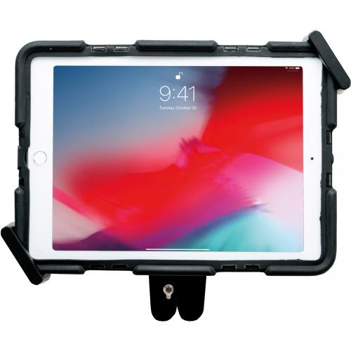 CTA Digital WorkSpace Desktop/Wall Mount For IPad (7th Generation), IPad Mini, IPad Air, IPad Pro, IPad (6th Generation), Tablet   Black Alternate-Image4/500