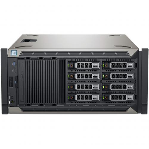 Dell EMC PowerEdge T440 5U Tower Server   2 X Xeon Silver 4208   32 GB RAM   1 TB (1 X 1 TB) HDD   12Gb/s SAS, Serial ATA/600 Controller Alternate-Image4/500