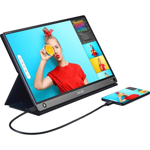 """Asus ZenScreen MB16AMT 15.6"""" LCD Touchscreen Monitor   16:9   5 Ms GTG Alternate-Image4/500"""