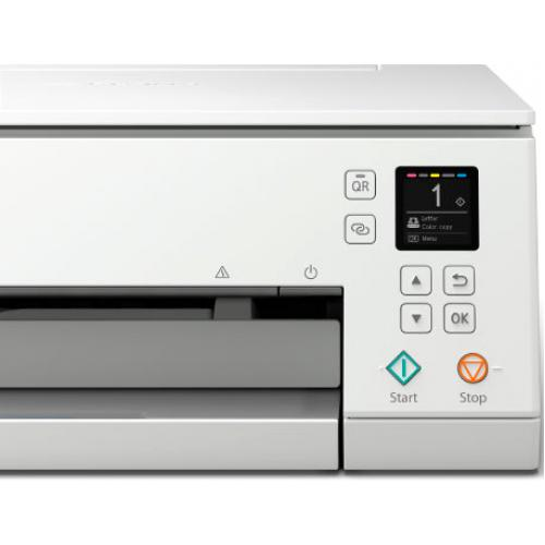 Canon PIXMA TS TS6320 White Inkjet Multifunction Printer   Color Alternate-Image4/500