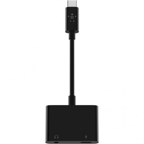 Belkin RockStar 3.5mm Audio + USB C Charge Adapter Alternate-Image4/500