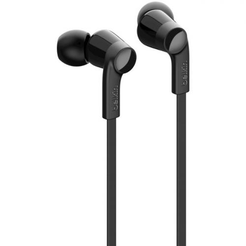 Belkin ROCKSTAR Headphones With Lightning Connector   Stereo   Lightning Connector   Wired   Earbud   3.67 Ft Cable Alternate-Image4/500