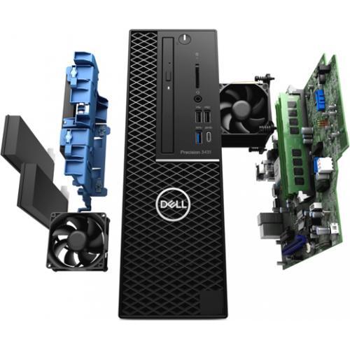 Dell Precision 3000 3431 Workstation   Xeon E 2224   16 GB RAM   256 GB SSD   Small Form Factor Alternate-Image4/500