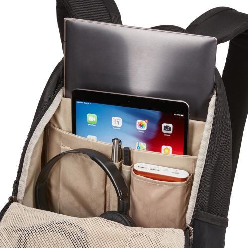 "Case Logic Notion Carrying Case (Backpack) For 14"" Notebook   Black Alternate-Image4/500"