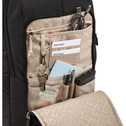 "Case Logic Notion Carrying Case (Backpack) For 17"" To 17.3"" Notebook   Black Alternate-Image4/500"