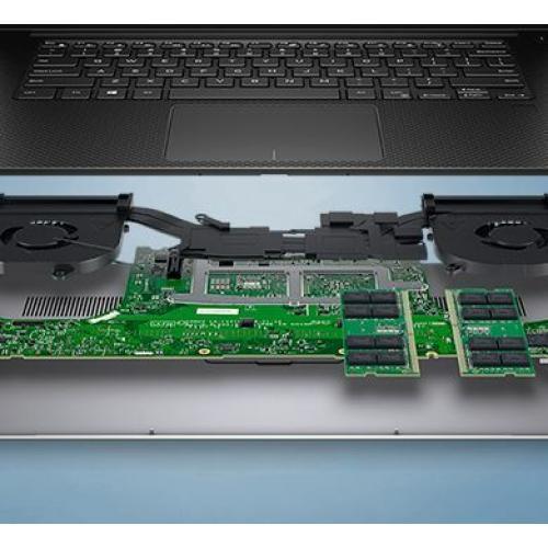 """Dell Precision 5000 5540 15.6"""" Mobile Workstation   1920 X 1080   Intel Core I7 (9th Gen) I7 9850H Hexa Core (6 Core) 2.60 GHz   16 GB RAM   512 GB SSD   Titan Gray Alternate-Image4/500"""
