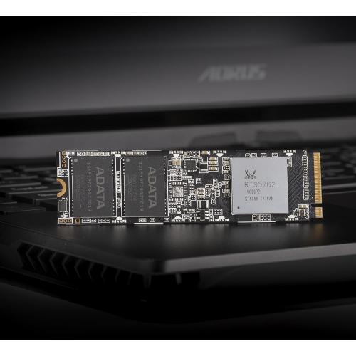 XPG SX8100 ASX8100NP 1TT C 1 TB Solid State Drive   M.2 2280 Internal   PCI Express NVMe (PCI Express NVMe 3.0 X4) Alternate-Image4/500