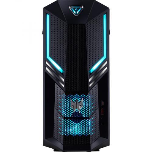Acer Predator PO3 600 Gaming Desktop Computer   Intel Core I5 9th Gen I5 9400 Hexa Core (6 Core) 2.90 GHz   8 GB RAM DDR4 SDRAM   1 TB HDD   256 GB SSD Alternate-Image4/500