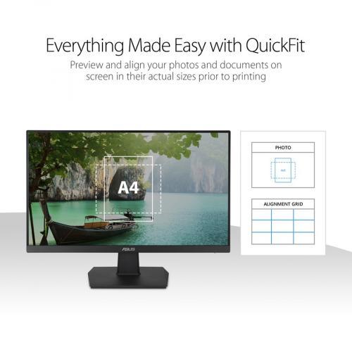 """Asus VA27EHE 27"""" Full HD WLED Gaming LCD Monitor   16:9   Black Alternate-Image4/500"""