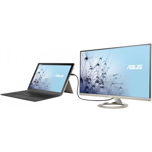 "Asus Designo MX27UCS 27"" 4K UHD LED LCD Monitor   16:9   Icicle Gold, Black Alternate-Image4/500"