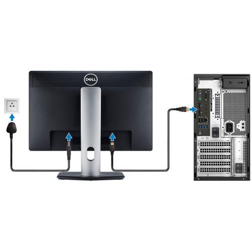 Dell Precision 3000 3630 Workstation   Core I7 I7 9700K   16 GB RAM   256 GB SSD   Mini Tower Alternate-Image4/500