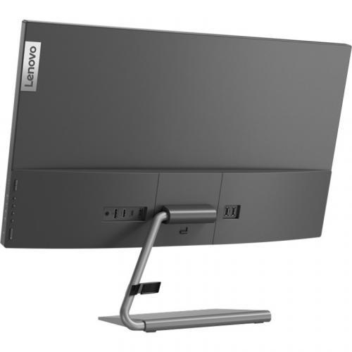 "Lenovo Q27h 10 27"" WQHD WLED LCD Monitor   16:9   Gray Alternate-Image4/500"