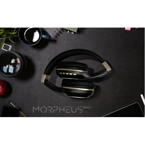 Morpheus 360 Serenity Wireless Over The Ear Headphones   Bluetooth 5.0 Headset With Microphone   HP5500G Alternate-Image4/500