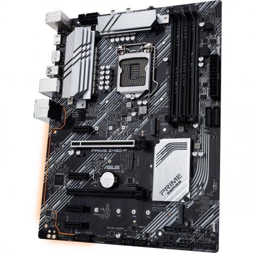 Asus Prime Z490 P Desktop Motherboard   Intel Chipset   Socket LGA 1200 Alternate-Image4/500