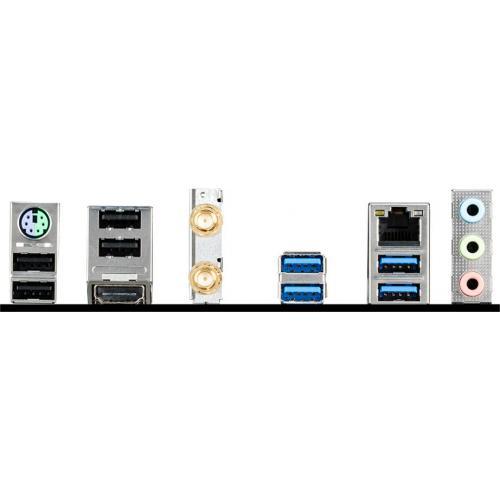MSI B450M BAZOOKA MAX WIFI Desktop Motherboard   AMD Chipset   Socket AM4   Micro ATX Alternate-Image4/500
