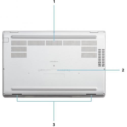 """Dell Latitude 5000 5511 15.6"""" Notebook   Full HD   1920 X 1080   Intel Core I5 (10th Gen) I5 10400H Quad Core (4 Core) 2.60 GHz   16 GB RAM   256 GB SSD Alternate-Image4/500"""