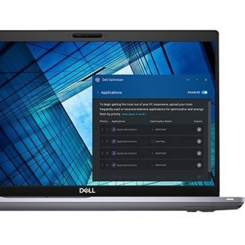 """Dell Precision 3000 3551 15.6"""" Mobile Workstation   Full HD   1920 X 1080   Intel Core I7 (10th Gen) I7 10850H Hexa Core (6 Core) 2.70 GHz   16 GB RAM   512 GB SSD Alternate-Image4/500"""