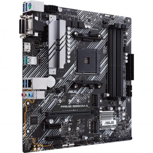 Asus Prime B550M A/CSM Desktop Motherboard   AMD Chipset   Socket AM4   Micro ATX Alternate-Image4/500