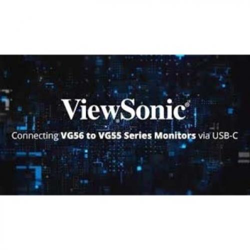 "Viewsonic VG1655 15.6"" Full HD LED LCD Monitor   16:9   Silver Alternate-Image4/500"