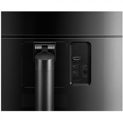 "LG Ultrawide 38BN75C B 38"" UW QHD+ Curved Screen LCD Monitor   21:9   High Glossy Black, Silver Spray Alternate-Image4/500"