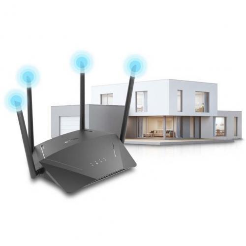 D Link DIR 1750 IEEE 802.11ac Ethernet Wireless Router Alternate-Image4/500
