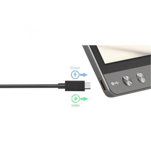 """Asus ZenScreen MB14AC 14"""" Full HD LCD Monitor   16:9   Dark Gray Alternate-Image4/500"""