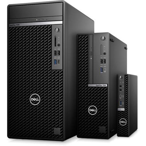 Dell OptiPlex 7000 7080 Desktop Computer   Intel Core I5 10th Gen I5 10500 Hexa Core (6 Core) 3.10 GHz   8 GB RAM DDR4 SDRAM   256 GB SSD   Small Form Factor Alternate-Image4/500