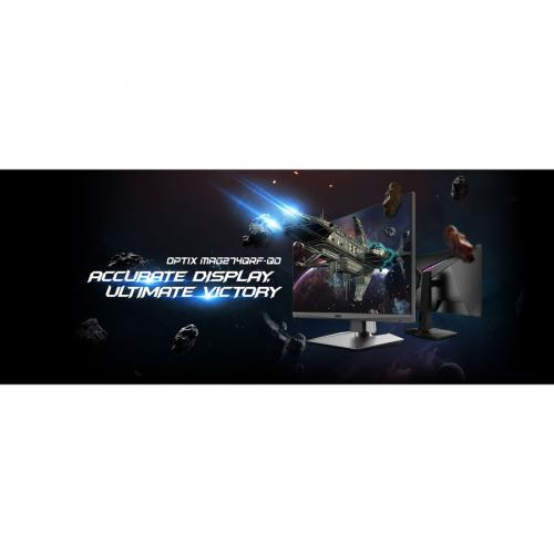 "MSI Optix MAG274QRF QD 27"" WQHD Gaming LCD Monitor   16:9 Alternate-Image4/500"